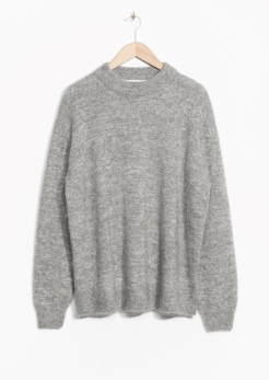 Sparkling Knit Grey - & Other Stories