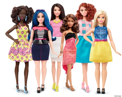 Barbie Fashionistas 2016 // Mattel